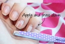 All About Nails / Everything you need to know about nails: how to care for them, how to make them long, how to shape them, how to paint them, everything!