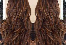 hair colour ideas dark haircuts