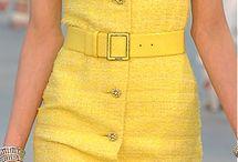 Yellow / Žltá, odtiene žltej farby / inšpirácie na žltú farbu a jej odtiene a kombinácie