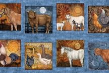 Bountiful / Fabrics from the Bountiful fabric line by Quilting Treasures