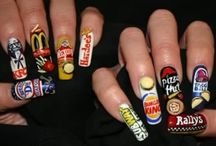 crazy nails. / by A Hernandez