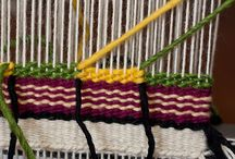 Weaving techniques / Colour blocks