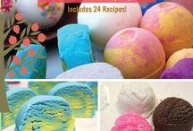 Bath Bombs and Salt Recipes / by Tish VanDenBossche
