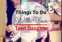 daughter- mummy things