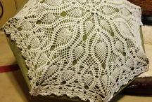 sombrilla crochet