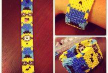 Rainbow loom Bracelets!!!