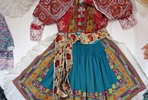 Slovak folk costume and embroidery