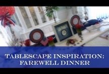 Tablescape Ideas / by Nikki Boyd
