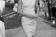Jackie O. / Jaqueline Kennedy - stylish, elegant, graceful and iconic.