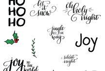 Calligraphy for Christmas