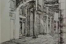 Bocetos Lugares
