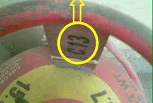 LPG / LPG gas cylinder