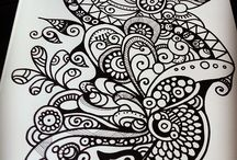 Tangle Art / some beautiful art from talented people