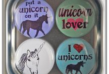 Pin-back Buttons (Badges) and Magnets / Pin-back Buttons (Badges) and Magnets, handmade in San Francisco.