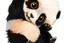 Pandas ♥ / Pandas and other cuties ♡.♡