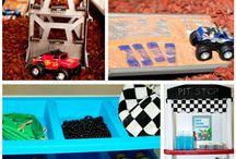 Monster Truck Party Ideas / Inspiration for my son's upcoming Monster Truck Party.