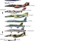 samoloty jedna skala