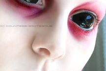 Alien Makeup & FX Contacts / Alien Special Effects Makeup, Prosthetics, and FX Contacts Ideas.