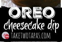 dessert dips
