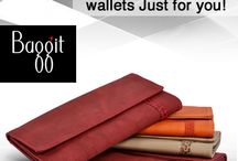 Perfect Wallets for Your Style & Comfort! / Baggit wallets are iconic, functional & totally unique. A must-have requisite to hold your essentials-cash, ID card, credit/debit/visiting cards, driver's license or even receipts easily. Inspired by the latest fashion trends.Perfect for the average consumer, our wide range of wallets is durable and super stylish. Stay well-equipped always by getting your own fashionable wallet at www.baggit.com