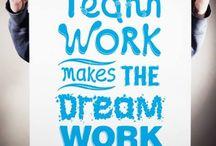 TEAMS / #work #teams #human #person #success #goals / by María José Castañer