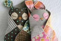 Things to sew TOYS / by Carolyn Spencer