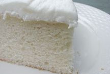 Recipes to Try / White cake