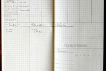 Bullet Journal / A collection of simple ideas to keep organized, especially for the bullet journal I use.  / by Alex Dk
