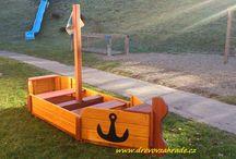 Moje projekty / Výrobky ze dřeva -  www.drevovzahrade.cz  -  drevovzahrade@gmail.com