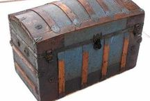 Antique Trunk/Steamer Refurb / A collection of ideas for refurbishing old steamer trunks