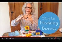 Beeswax and Clay Modeling / by Carrie Dendtler