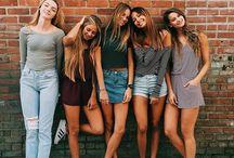 Friends Style / Amigos/Estilos/Lifestyle