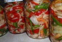 sterilizovane salaty a calamady