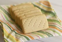 Brown suger shortbread