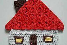 decoração em croche