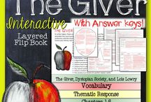 Literature Guides & Book Units / Resources and ideas for teaching books in all ELA classrooms.  Featuring literature guides and other innovative ways for teaching whole novels.