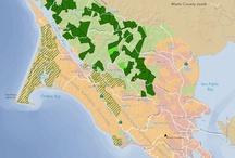 Maps - Marin County & SF Bay Area / by MarinVacation California