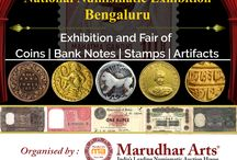 NNE - 9, Bangalore 2018 / Asia's Largest Exhibition of India and Worldwide Coins, Stamps, Paper Money and other Collectibles. On 23rd - 25th Feb, Shikshak Sadan, Opp. Kaveri Bhavan, K.G.Road, Bangalore - 560002