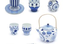 Blue and White Ceramics / Gorgeous blue and white pottery