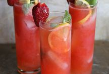 Vodka strawberries