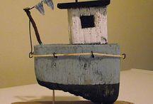 barcos artesanales