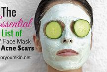 DIY Face Mask / A collection of DIY face mask for treating acne and dark spots