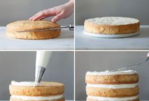 DIY Semi naked cake
