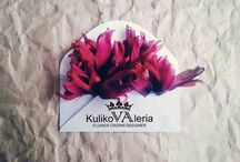 My works silk flowers (ll)