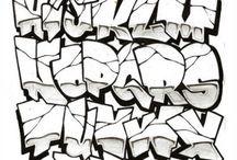 graffity pismena