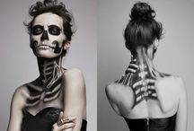 halloween. / just some halloween costumes and impeccable makeup art.