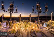 LED Wedding table decor / 0