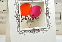 Cards - Birthday...