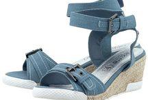 Γυναικεία παπούτσια τζιν / τζιν πλατφορμες, τζιν πεδιλα, τζιν μποτες