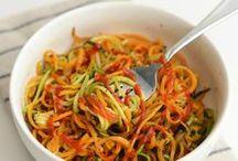 spiralizer veggies and salads